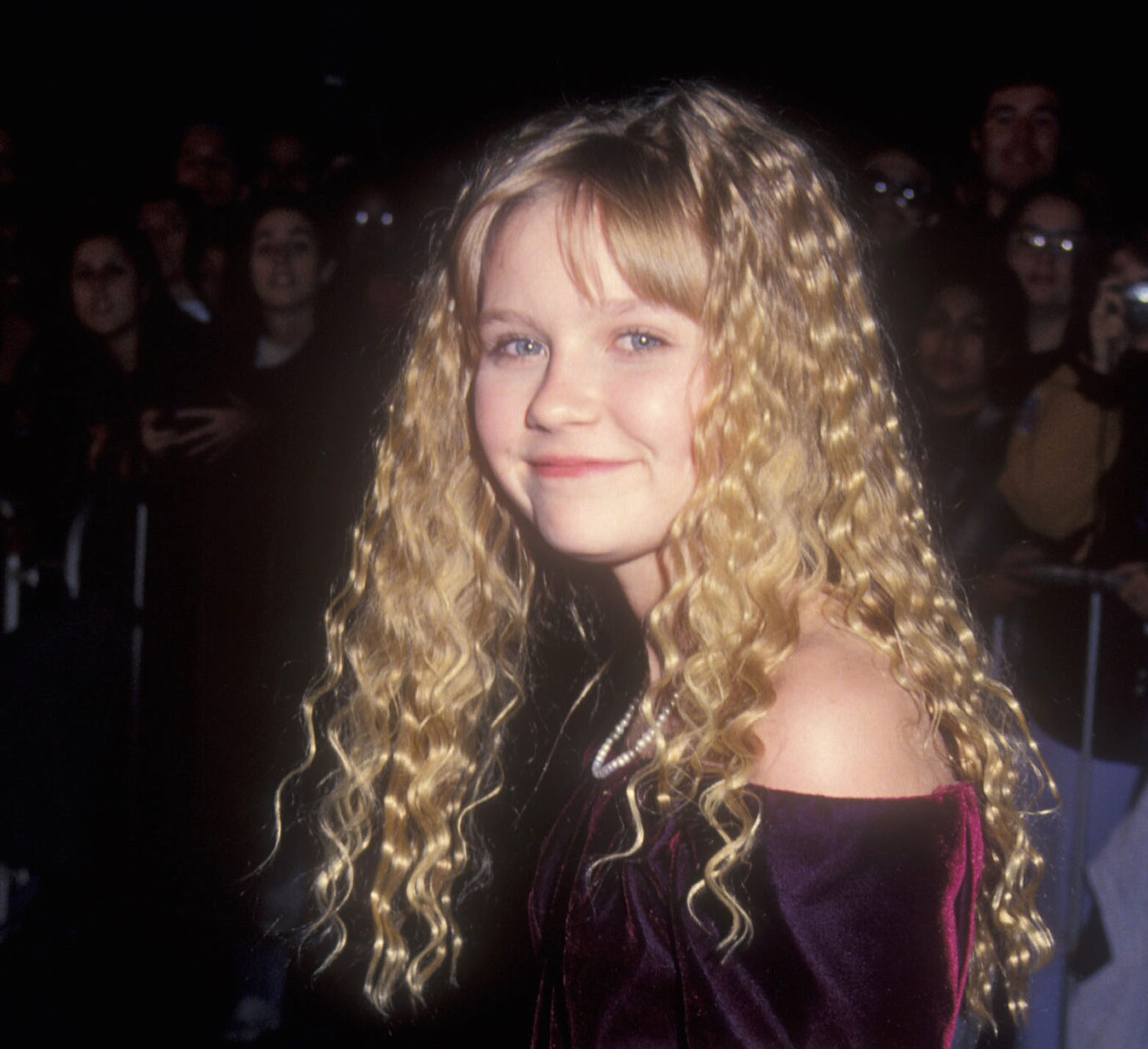 "Kirsten Dunst just shared a flashback from her ""Star Trek"" days — beam us up, please!"