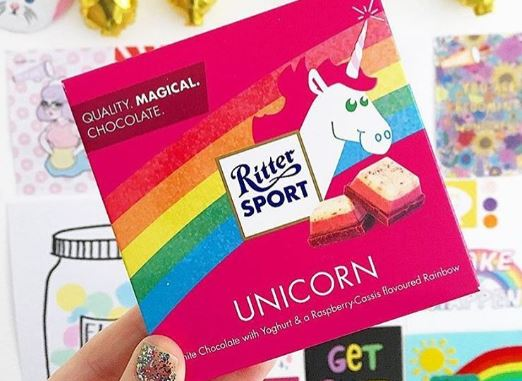 Unicorn Chocolate is real and probably tastes magical