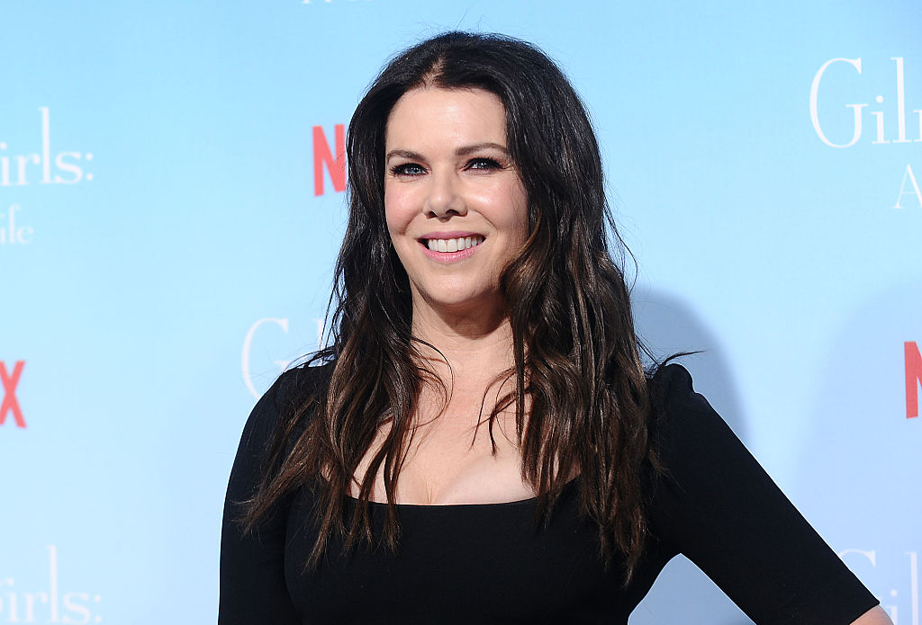 """Lauren Graham proved she really can talk just as fast as her """"Gilmore Girls"""" character on """"Ellen"""""""