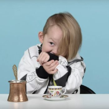 This video of kids trying coffee from around the world is basically all of us before adulting