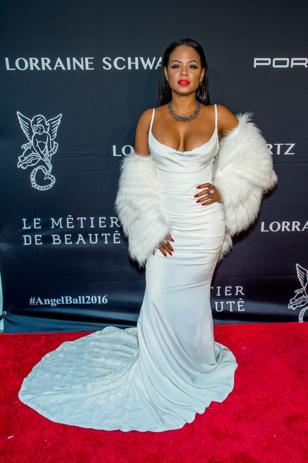 Christina Milian Was Serving Up Some Marilyn Monroe Vibes