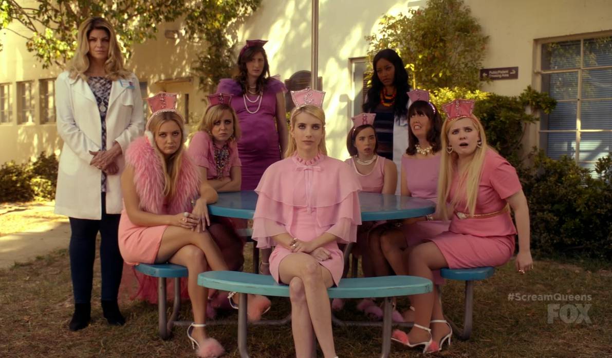 """Here's how you can recreate the fashion seen in """"Scream Queens""""' episode, """"Blood Drive"""""""