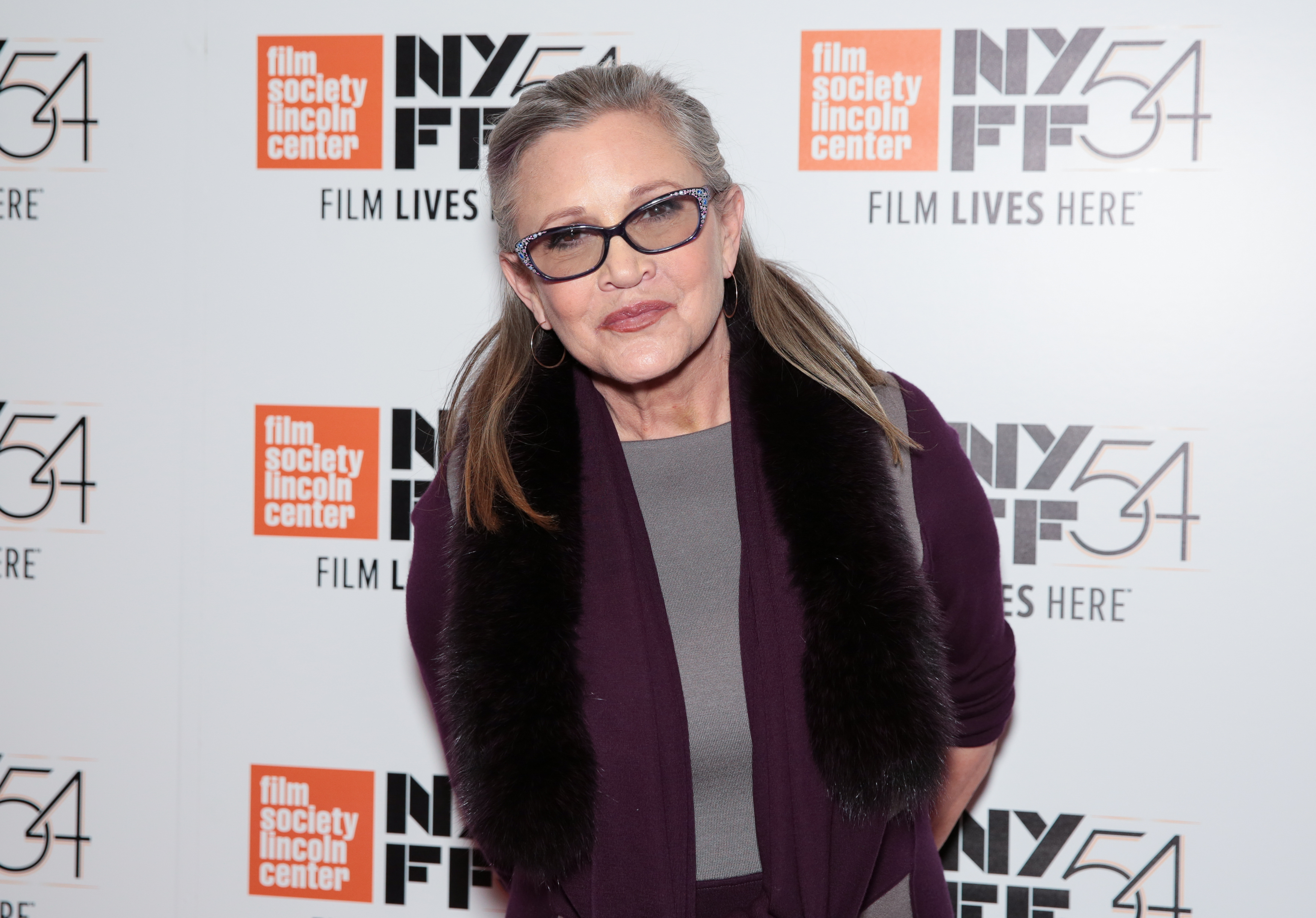 "Carrie Fisher reveals she was sent to a ""fat farm"" before filming ""Star Wars"""
