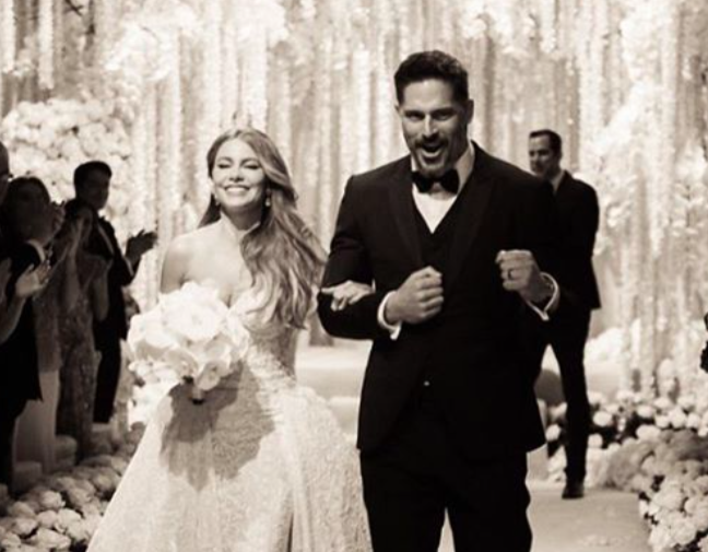 Sofia Vergara's wedding anniversary cake with Joe Manganiello is so adorable