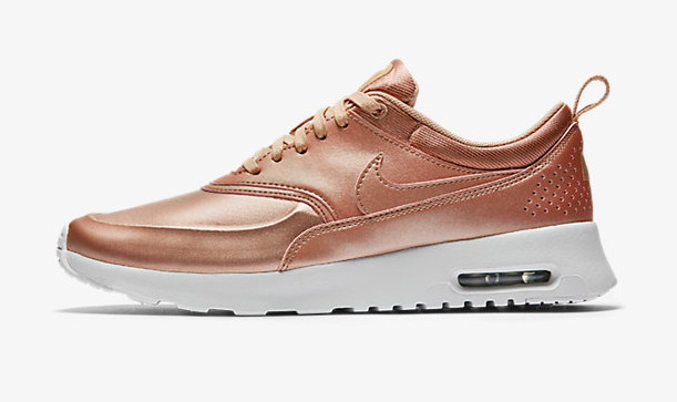 Nike just teamed up with Bandier to deliver us the most delicious rose gold sneakers