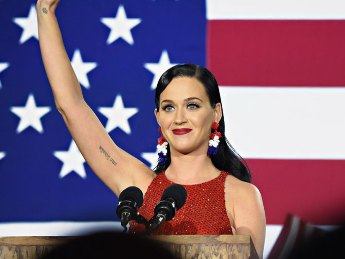 Katy Perry has some helpful advice for all of us headed home to our families this Thanksgiving