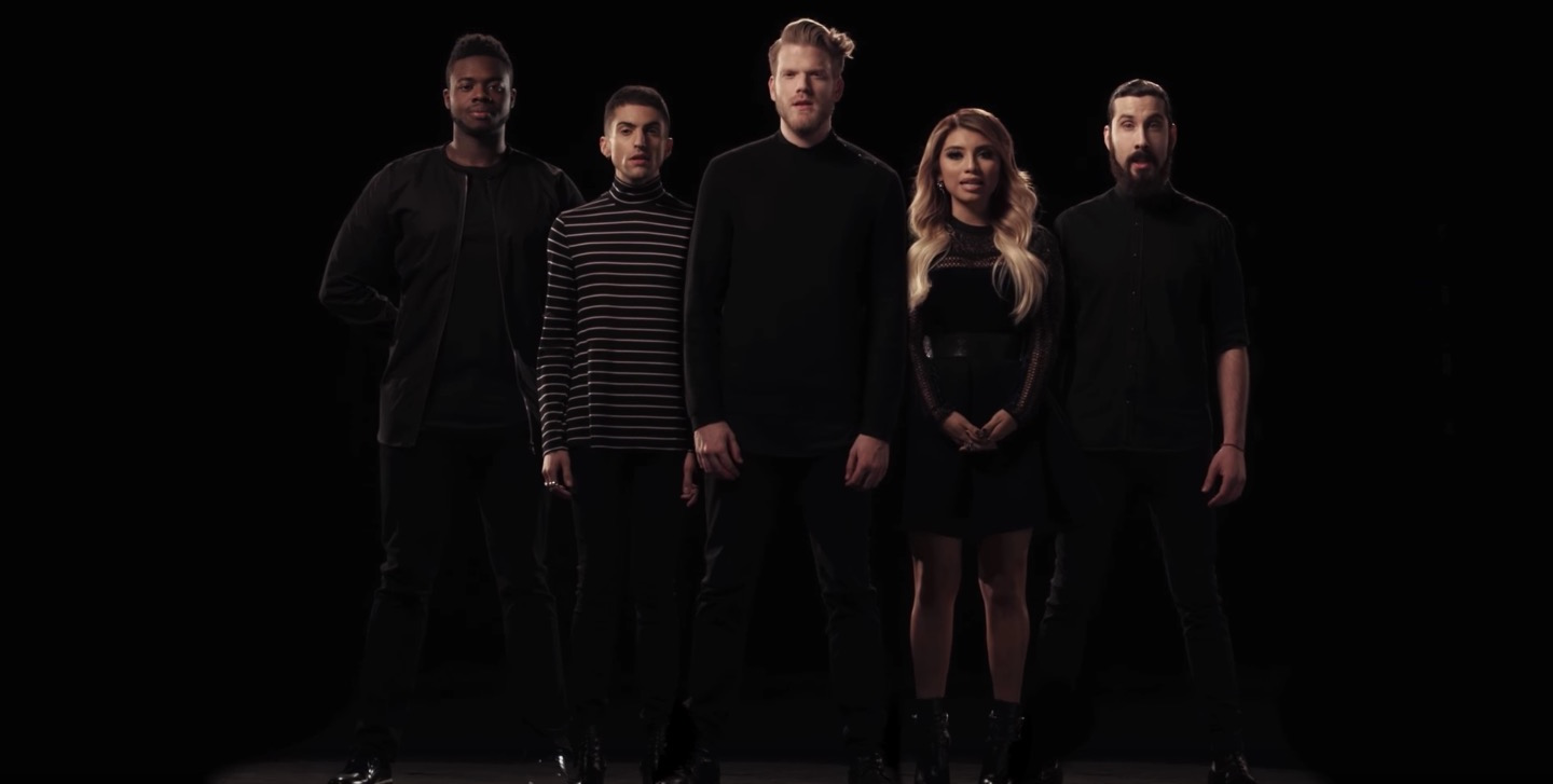We know it's still Thanksgiving but we can't stop watching Pentatonix's newest Christmas video