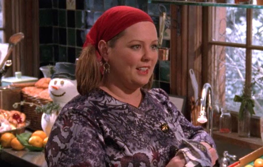 "Oh, so THIS is where Sookie is during the ""Gilmore Girls"" revival"