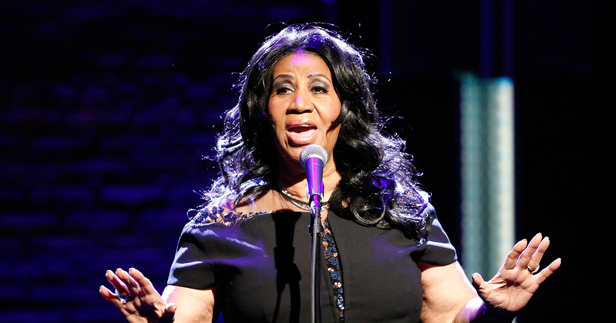 Aretha Franklin gave a 5 minute performance of the National Anthem and no one could handle it