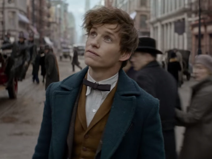 Dating newt scamander would include