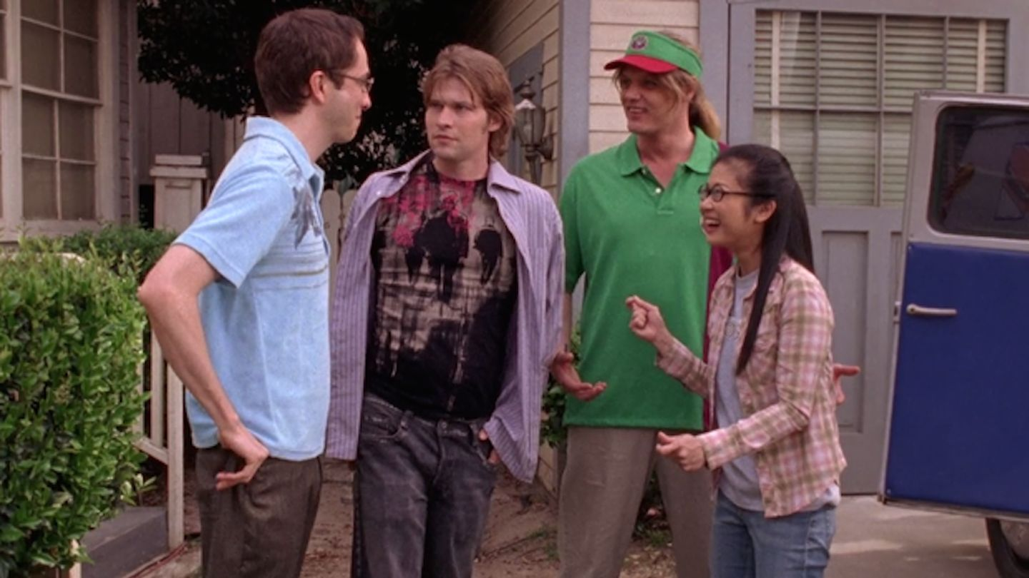 "The Hep Alien reunion on the first episode of the ""Gilmore Girls' revival is so awesome"