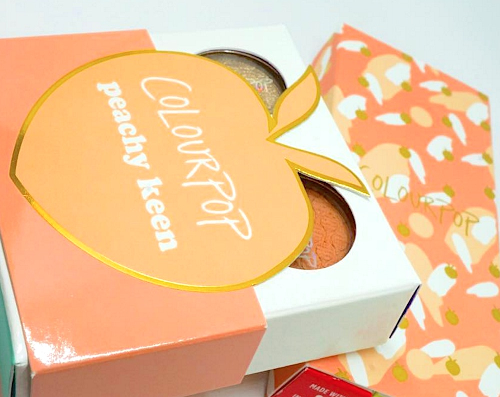 ColourPop is coming out with a peachy new collection tomorrow and it's super cute