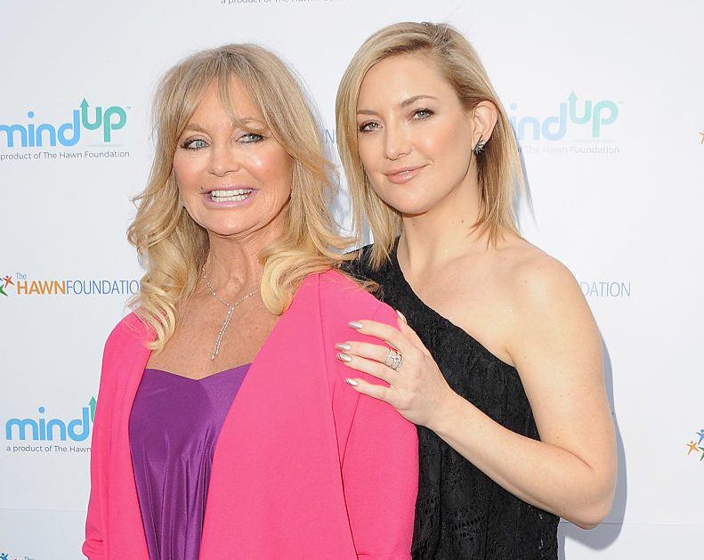 Kate Hudson and her mom Goldie Hawn showed us yet again they have the BEST relationship ever