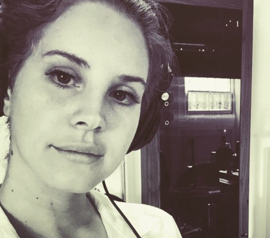 Lana Del Rey celebrated her collabs with The Weeknd on Instagram