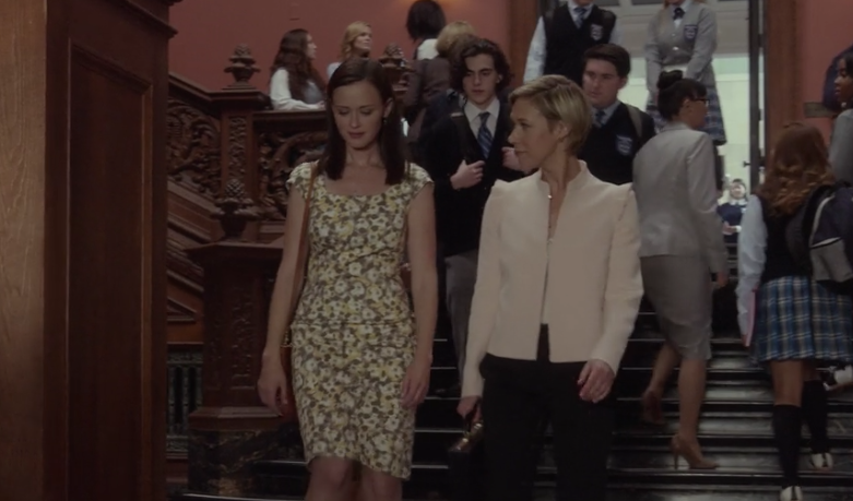 "Rory Gilmore and Paris Geller visited Chilton during ""Gilmore Girls: A Year in the Life"" and it was a 2003 wayback playback"