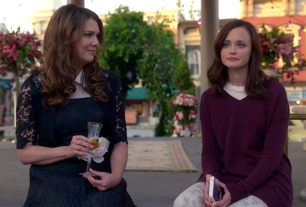 There was a Stars Hollow wedding on 'Gilmore Girls' and it was pure perfection
