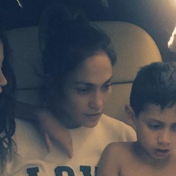 Jennifer Lopez and her daughter are totally matching in this adorable post