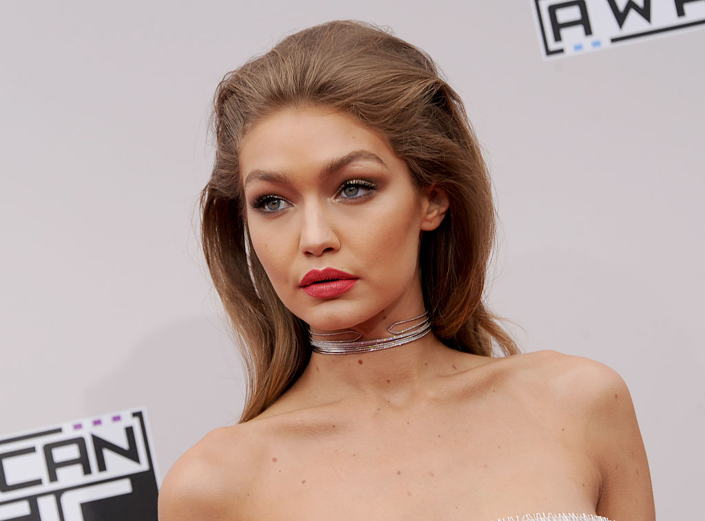 Gigi Hadid looks like a dark and dreamy butterfly and how did we miss this??