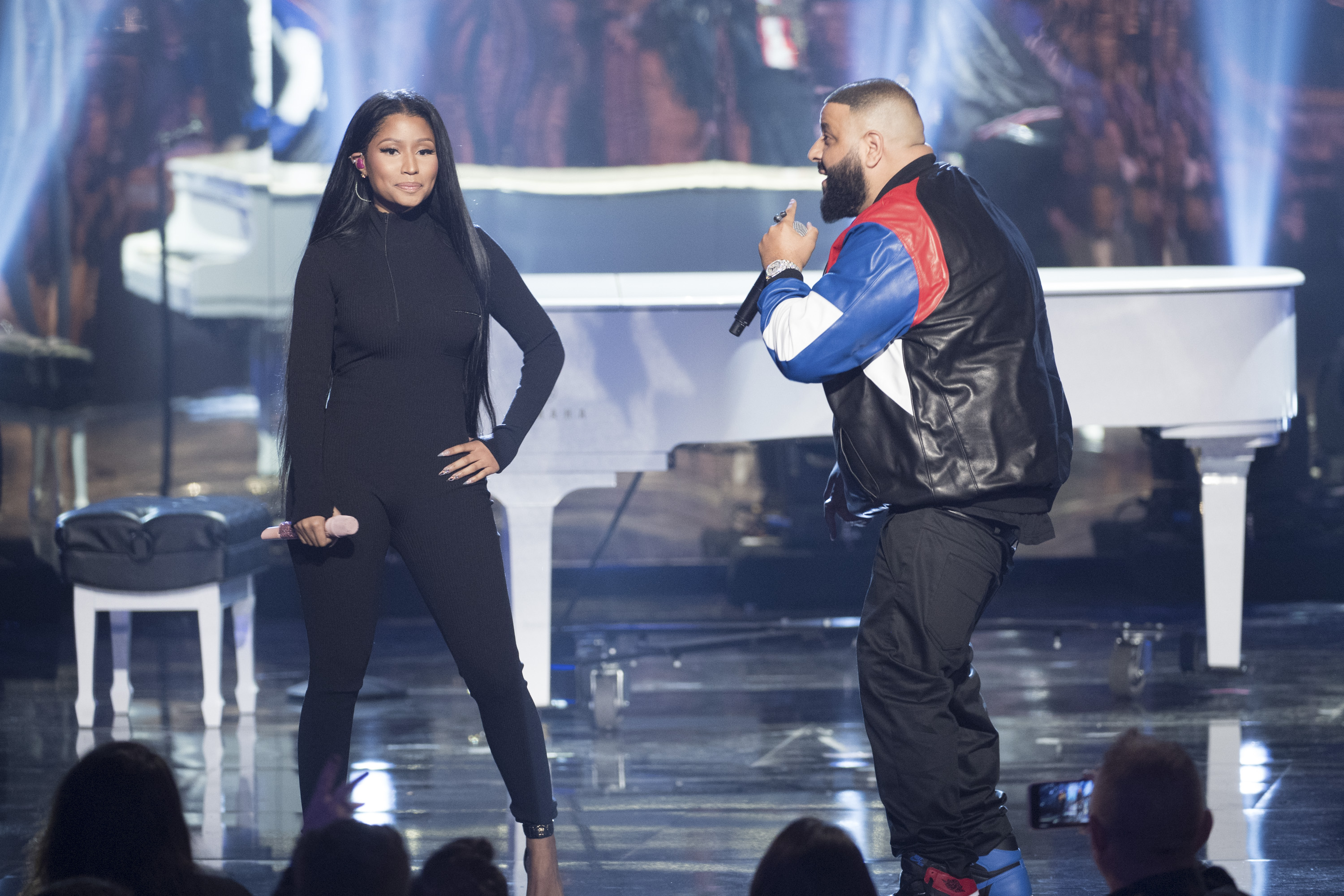 DJ Khaled's son met Nicki Minaj so he's already on his way to being just like his dad