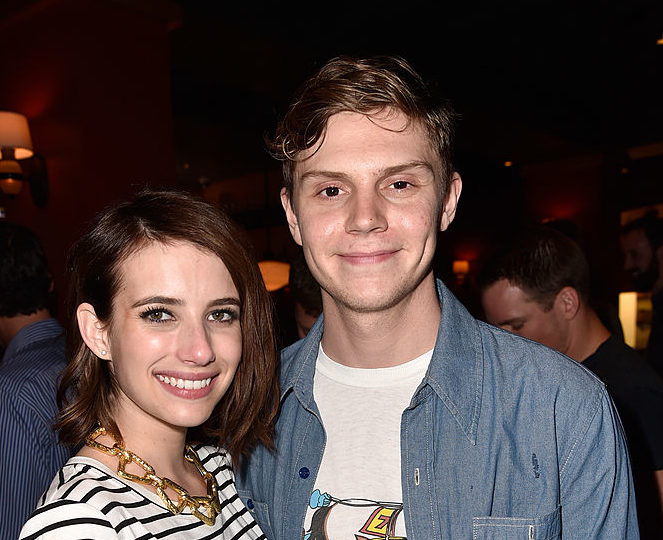 Emma Roberts and Evan Peters from 'American Horror Story' might be engaged again