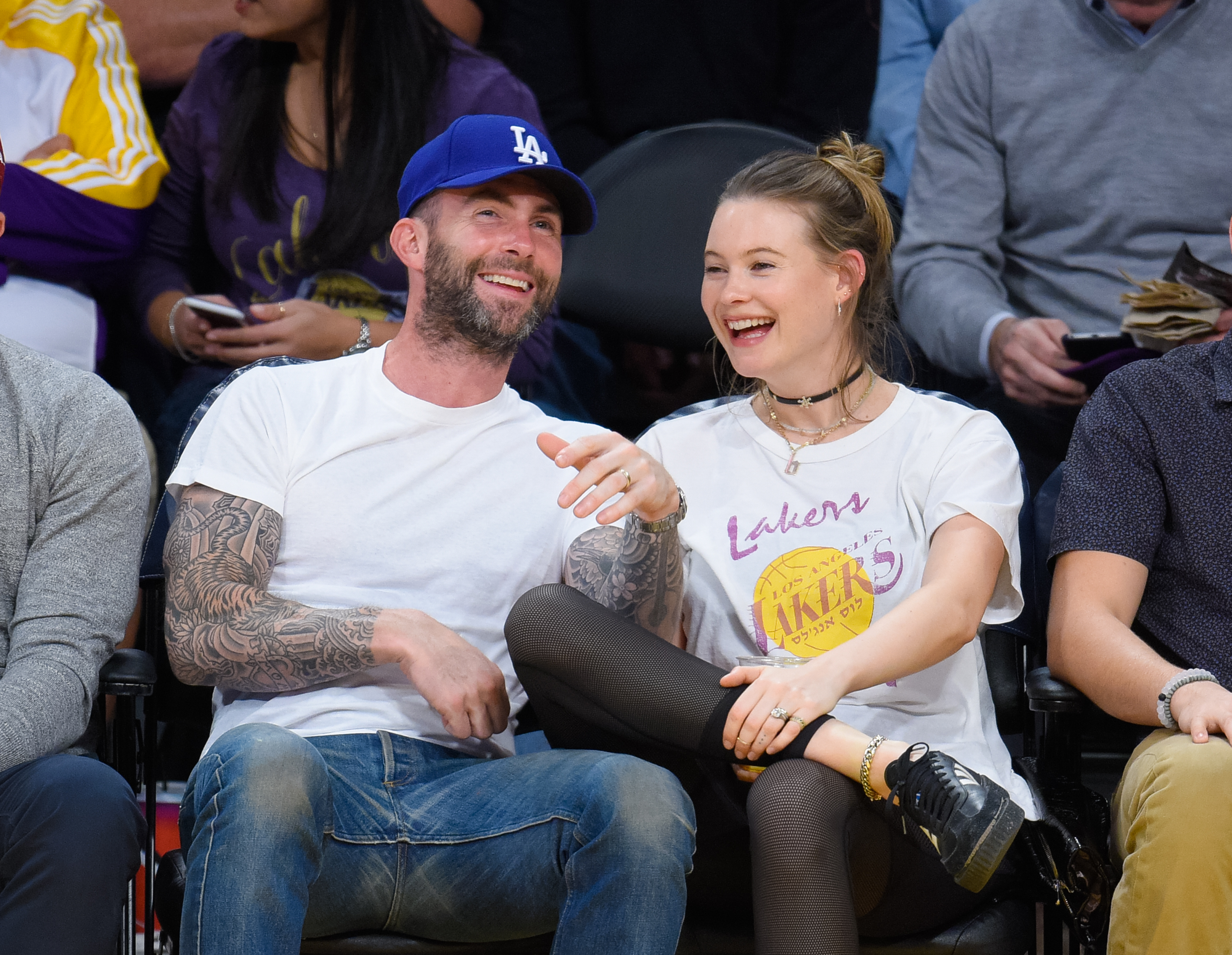 Adam Levine's post-baby date night with his wife is absolute #couplegoals