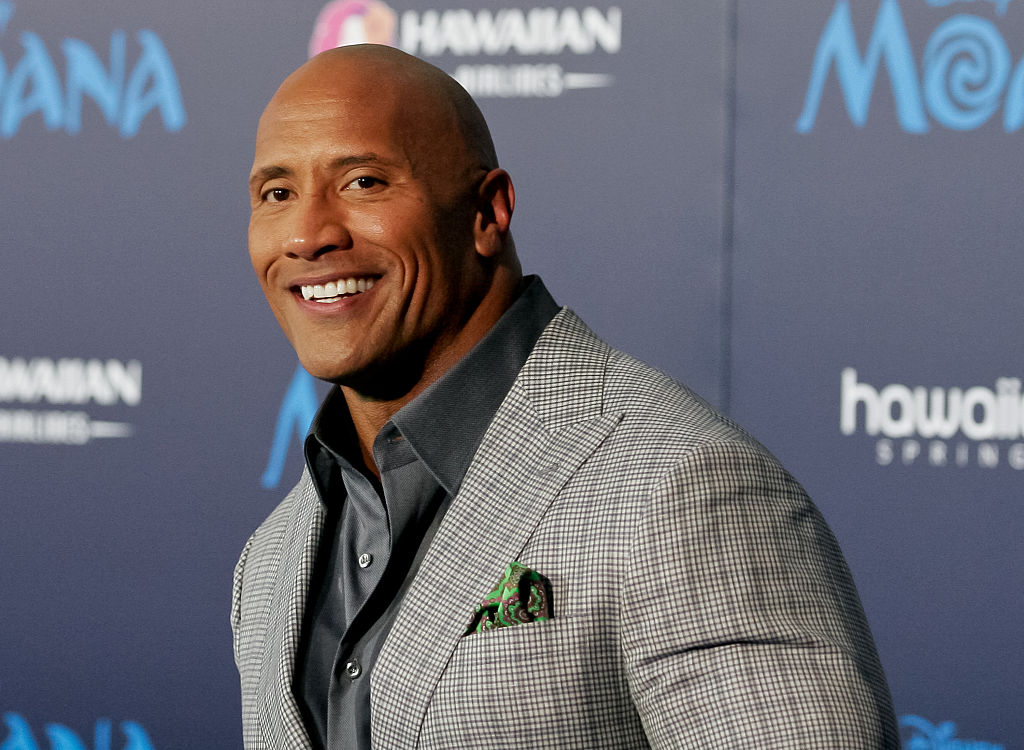 The Rock got a Superman costume, which feels appropriate since he's a hero IRL