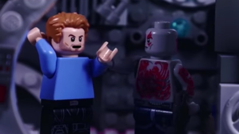 "Someone recreated the  ""Guardians of the Galaxy 2"" trailer with Legos, and, WOAH"