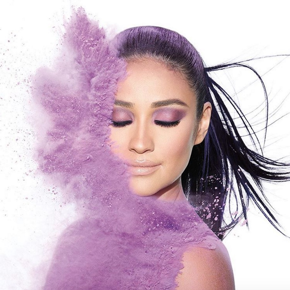 Shay Mitchell collaborated with Smashbox Cosmetics to create seven eyeshadow palettes and they're STUNNING