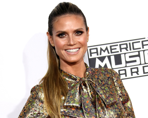 "Heidi Klum reveals she's a nudist and ""very free"" and we're praising her body positivity"