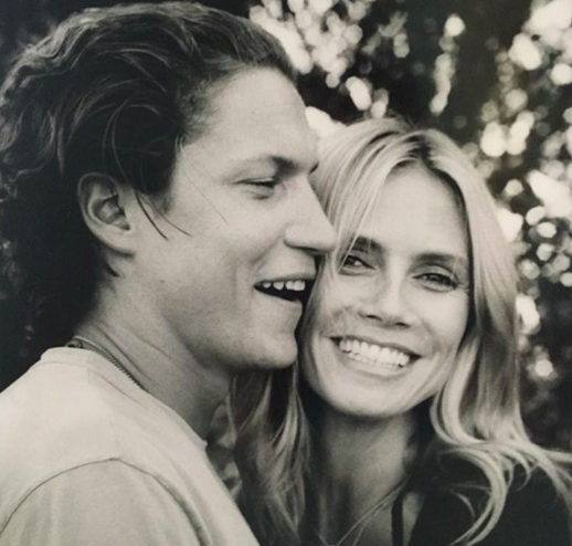 Heidi Klum doesn't care that people care she has a younger boyfriend, and we're clapping