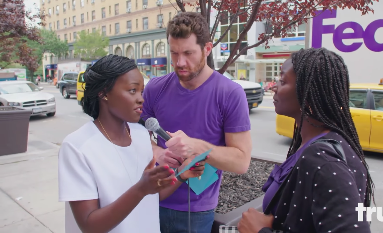 "Lupita Nyong'o tries stand-up with ""Billy on the Street,"" and of course it's adorable"