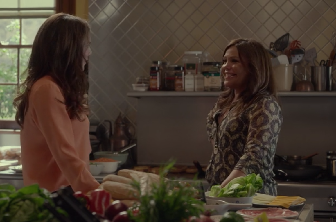"Chef Rachael Ray says she was nervous during her role on ""Gilmore Girls,"" and we don't blame her"