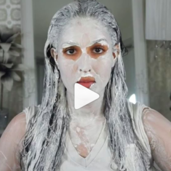 """This beauty vlogger's DIY face and body mask will make you look like a white walker from """"Game of Thrones"""""""