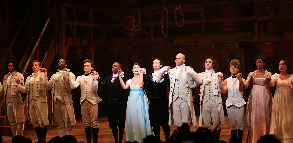 "Some of the original ""Hamilton"" cast members reunited over the weekend, and it's so awesome"