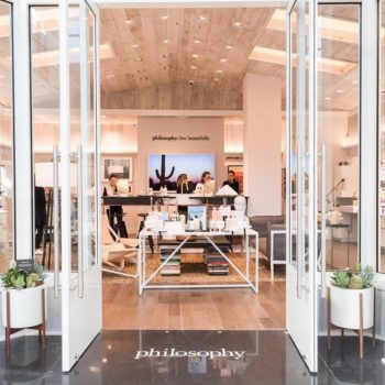 Beauty brand Philosophy opens its first concept store and it's so important for self-care