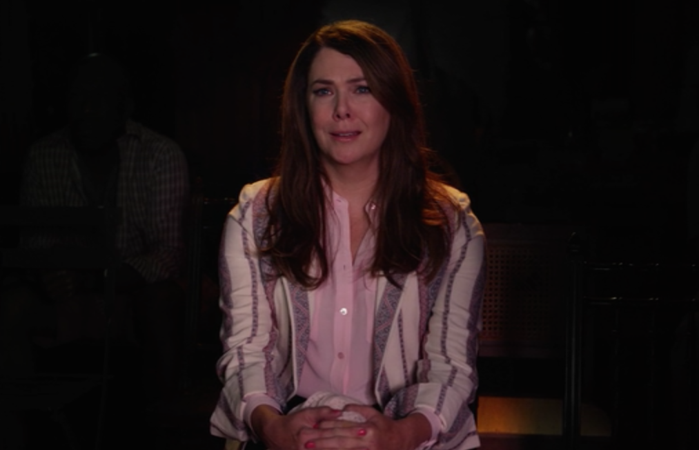 "Here's a short list of 9 times Lauren Graham cried while filming ""Gilmore Girls"""