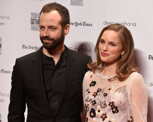 Natalie Portman and husband Benjamin Millepied make rare red carpet duo at the Gotham Awards