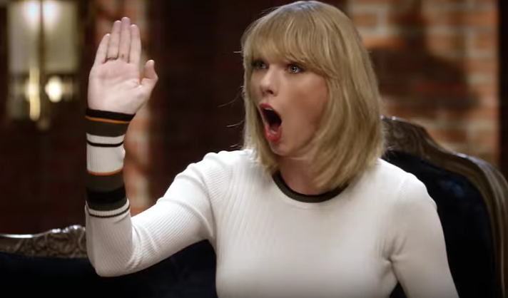 Taylor Swift is wearing the most swoon-worthy white sweater in this commercial, and you can buy it for $58