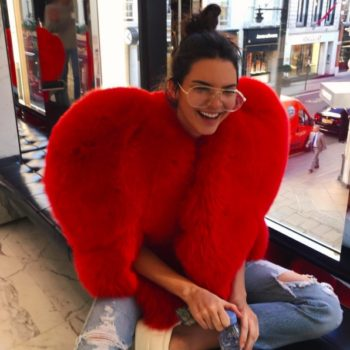 Kendall Jenner revealed the foods she always has in her dressing room, and, we get it