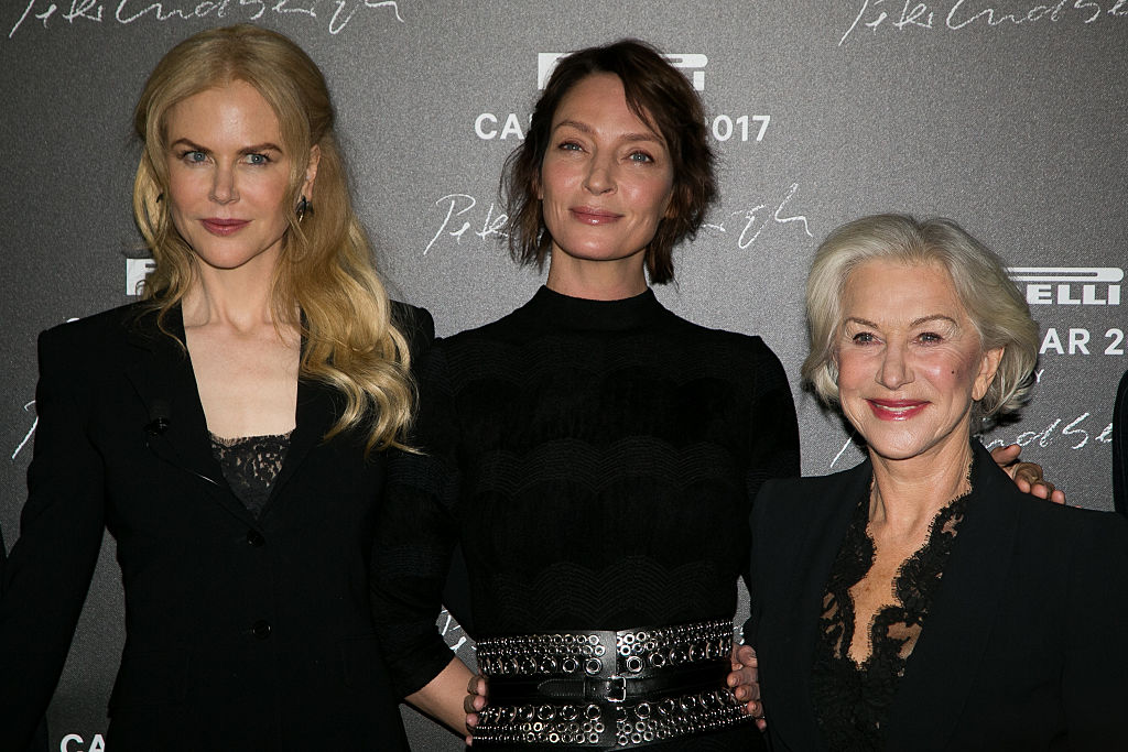 Nicole Kidman, Helen Mirren, and Uma Thurman all lunched together in Paris because of course they did