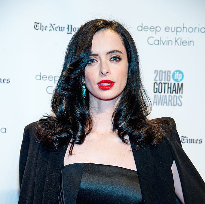 Here's where you can get affordable versions of Krysten Ritter's goth Marilyn Monroe dress
