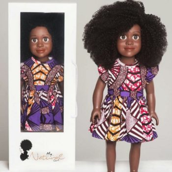 This natural-haired doll is empowering little girls to love their hair