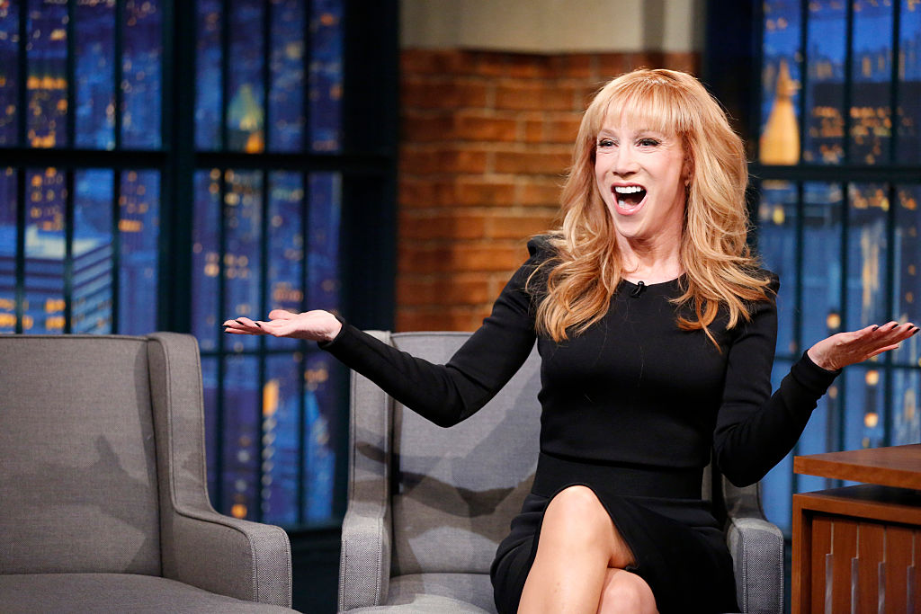 Here's what Kathy Griffin wants to tell President-elect Donald Trump