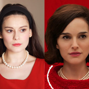 "A simple, fresh-faced makeup look inspired by Natalie Portman's new film ""Jackie"""