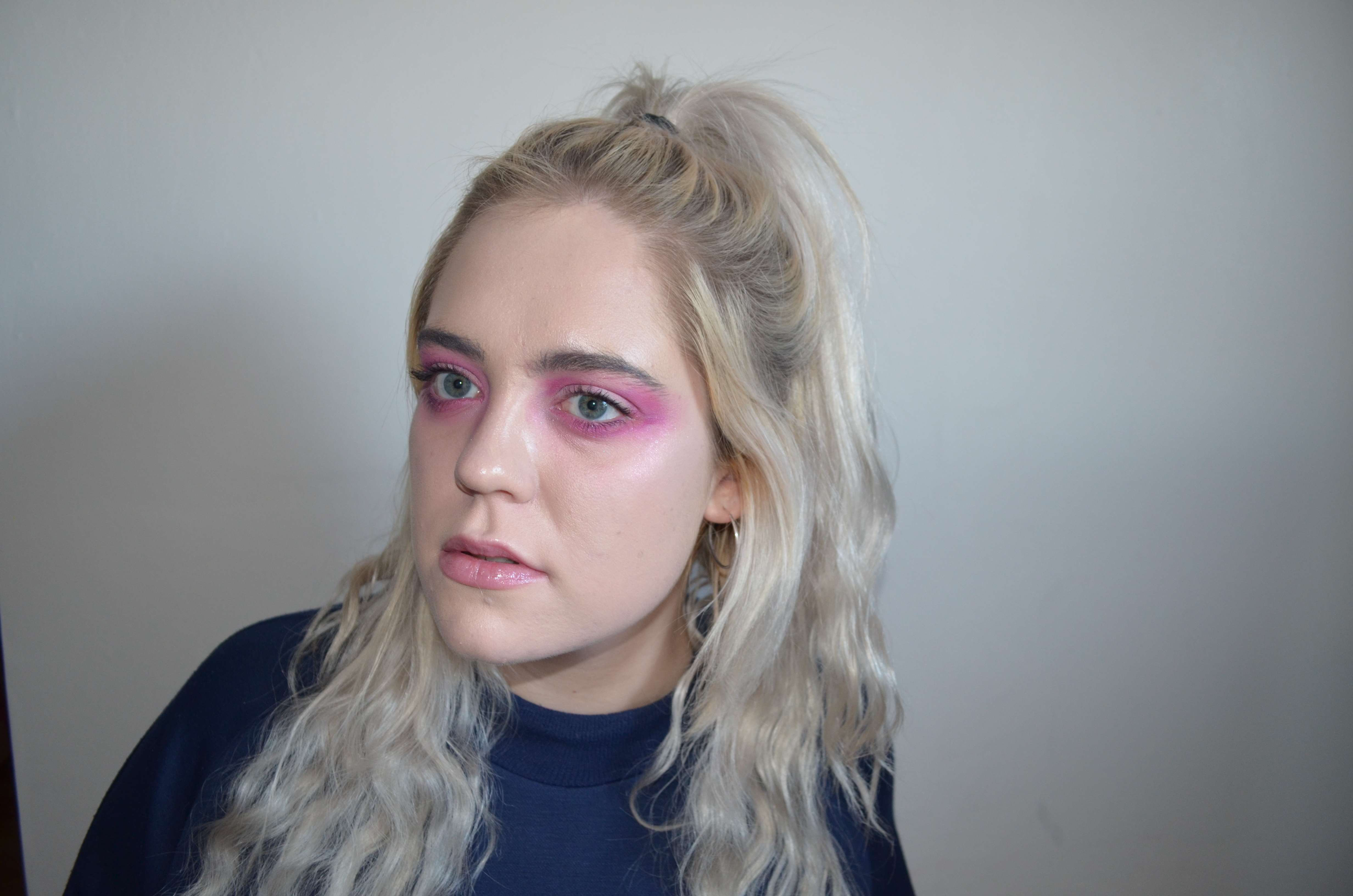 Here are two ways to use pink eyeshadow that are far from intimidating