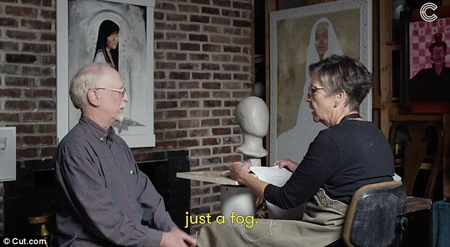 Blind people describing their loved ones to a sculptor is *so* amazing and fascinating
