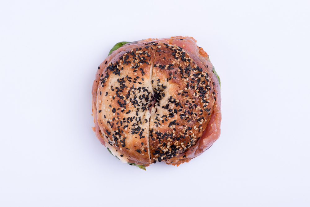Guys, a bagel without a hole is not a bagel