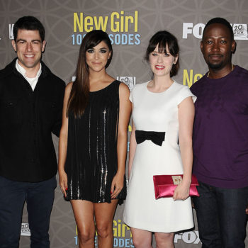 """Liz Meriwether just tweeted out an incredible pic of the """"New Girl"""" cast, and we're cracking up"""