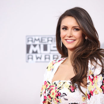 Nina Dobrev debuted a shorter, edgier hairdo at the Oscars after-party
