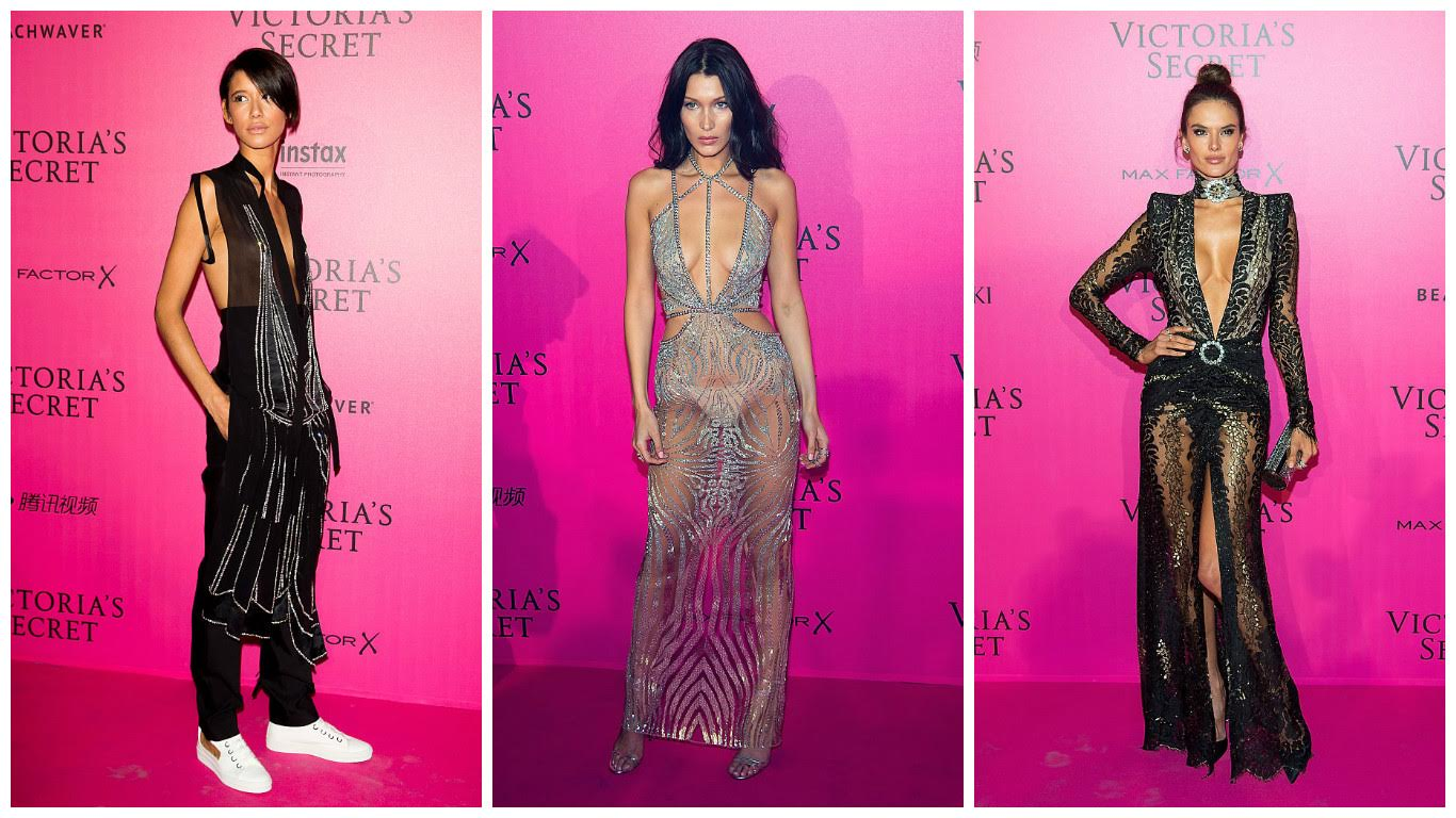 Here are the best looks from the Victoria's Secret Fashion Show after party